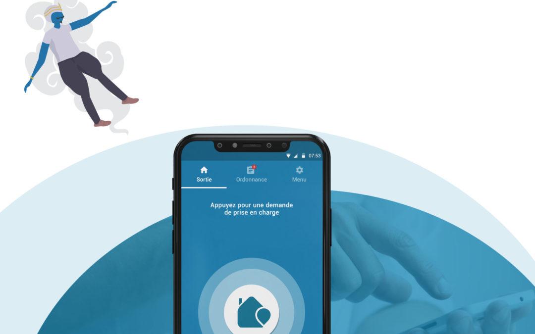Perfusion à domicile : La lampe d'Aladin & Co, l'application qui s'occupe de tout